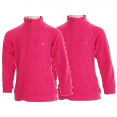 4F Microtherm fleece shirt, 2-pack, junior, pink