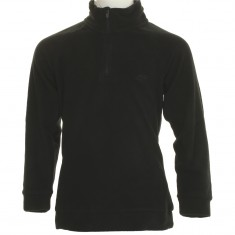4F Microtherm fleece shirt, junior, black