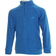 4F Microtherm fleece shirt, junior, blue