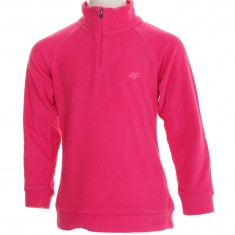 4F Microtherm fleece shirt, junior, pink