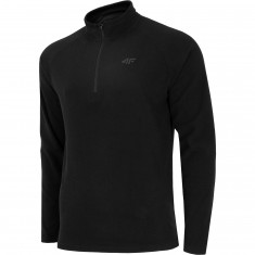 4F midlayer, 1/4 zip, men, black