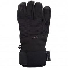 4F NeoDry ski gloves, men, black
