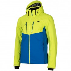 4F Noah, ski jacket, men, green/blue