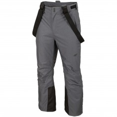 4F Oliver, ski pants, men, middle grey