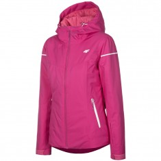 4F Olivia, ski jacket, women, dark pink