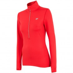 4F QuickDry fleecepulli,womens, red