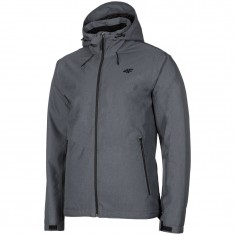 4F Robin, ski jacket, men, middle grey