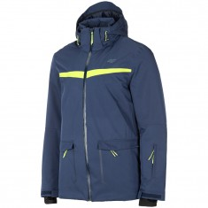 4F Roland, ski jacket, men, dark blue
