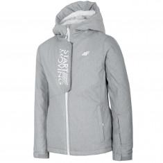 4F Sarah, ski jacket, junior, grey