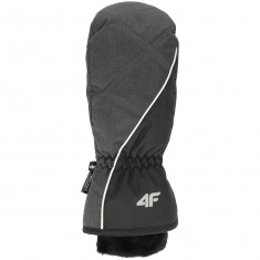 4F ski mitten, women, black