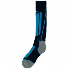 4F ski socks, junior, cobalt