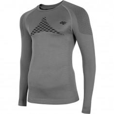 4F skiunderwear shirt, seamless, men, grey