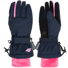 4F Tilde ski gloves, junior, navy