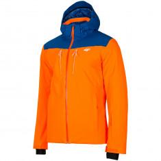 4F William, ski jacket, men, orange