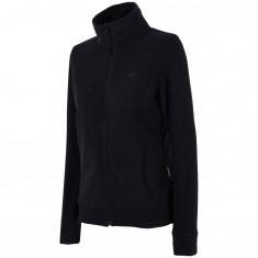 4F womens fleece jacket, black