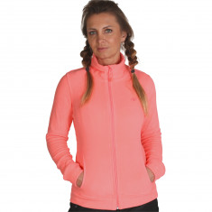 4F womens fleece jacket, coral