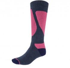 4F Womens Ski Socks, blue/violet
