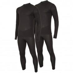 4F/Outhorn 2 set ski underwear, mens, black