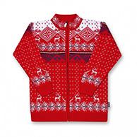 Kama nordic sweater for Kids, full zip