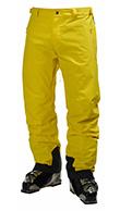 Helly Hansen Legendary  mens ski pants, yellow