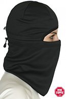 Kama softshell face mask, black