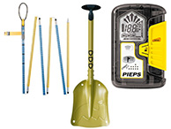 Pieps Set PRO safety bundle with beeper, probe and shovel