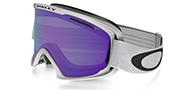 Oakley O2 XL, Matte White, Violet Iridium