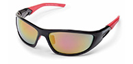 Demon Power sport sunglasses, black/red