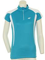4F Thermodry bike t-shirt, women, turquoise