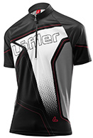 Löffler Bike-Trikot Performance Hz-Cf Race Light bike t-shirt, men, black