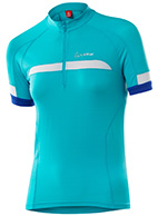 Löffler  Bike-Trikot Active HZ , women, turquoise