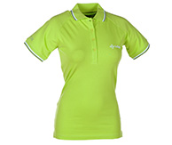 Kilpi Duster VII, womens polo shirt , light green