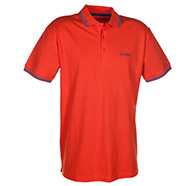 Kilpi Broadway VII, mens polo shirt , orange
