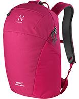 Haglöfs Miro Rugged Medium, Laptop backpack, red