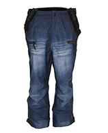 Kilpi Pihlaja, Mens wide-fit Ski pants, jeans look