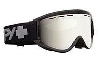 Spy+ Getaway Ski Goggle, Bronze Silver Mirror, black