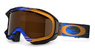 Oakley Ambush,Hyperdrive Orange, Black Iridium