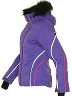DIEL Ski Spirit II womens ski jacket, purple