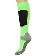 Seger Racer, Mens Ski Socks, neon