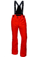 Deluni ski pants for men, red