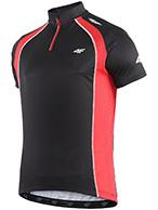 4F Thermodry black bike t-shirt, men,