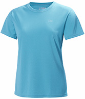 Helly Hansen W Training T-Shirt, short sleeve, blue