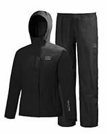 Helly Hansen W Seven J set, womens Rain Suit, black