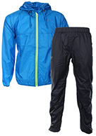 2117 of Sweden Viared, mens Rain Suit, blue