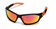 Demon Emotion 2 Revo sport sunglasses, black/orange