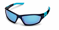 Demon Emotion 2 Revo sport sunglasses, black/blue