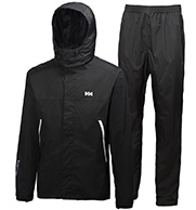 Helly Hansen Lysefjord set, mens Rain Suit, black