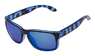 Out Of Swordfish sunglasses, Blue Transparent