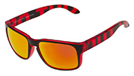 Out Of Swordfish sunglasses, Red Transparent
