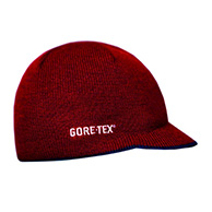 Kama knitted beanie in Gore-Tex, red